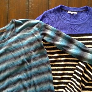 Lot of 2 sweaters GAP and The Limited Size M